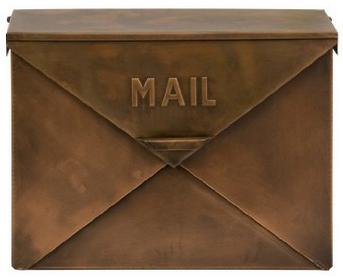 Copper Tauba Mailbox