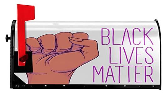 Black Lives Matter Mailbox