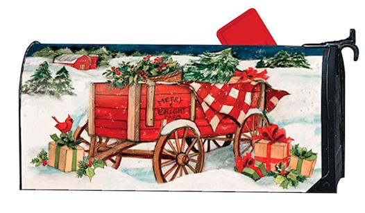 Mailbox Cover for Christmas