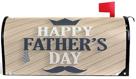 Fathers Day Mailbox Cover