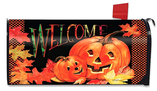 Mailbox Cover for Halloween
