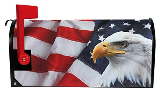 Mailbox Cover USA Patriotic