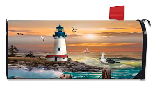 Mailbox Cover LightHouse