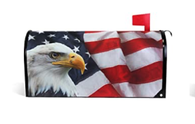 Mailbox Magnetic Cover USA