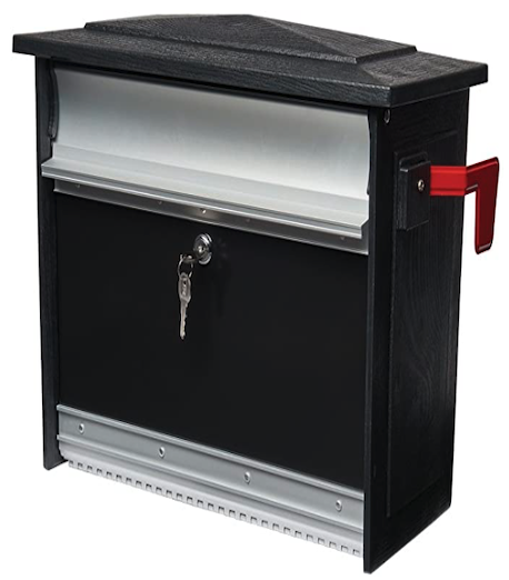 Mailsafe Wall-Mount Locking Mailbox