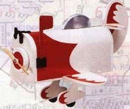 Airplane Novelty Mailbox