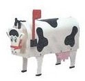 Novelty Cow Mailbox